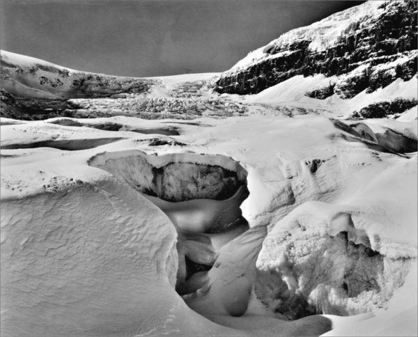 Athabasca Glacier, Columbia Icefields, AB 8X10