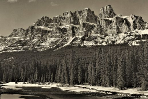 Early Spring, Castle Mountain, Banff NP, AB