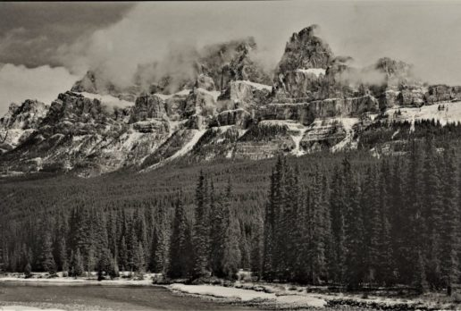 Mid Spring, Castle Mountain, Banff NP, AB