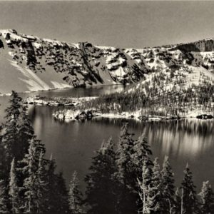 Wizard Island, Crater Lake NP, OR